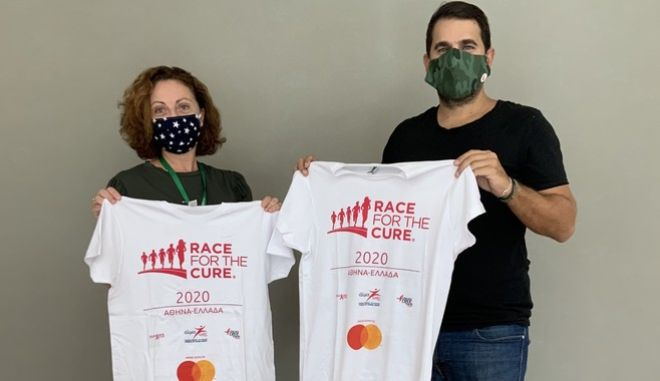 Οι εργαζόμενοι της INTERAMERICAN στο φετινό διαδικτυακό «Greece Race for the Cure®» για την πρόληψη του καρκίνου του μαστού