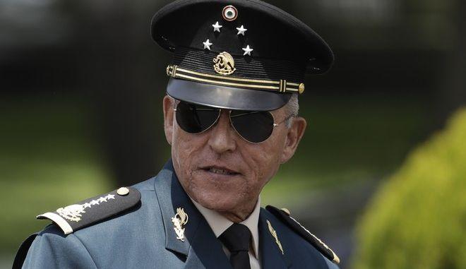 Ο Μεξικανός πρώην υπουργός Άμυνας του Μεξικού, Σαλβαδόρ Σιενφουέγος