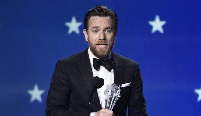 """Ο ηθοποιός Ewan McGregor αναλαμβάνει τον πρωταγωνιστικό στο σίκουελ της ταινίας """"Η Λάμψη"""""""