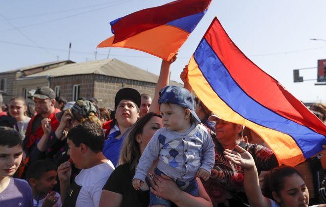 Συνεχίζονται οι κινητοποιήσεις στη πρωτεύουσα της Αρμενίας