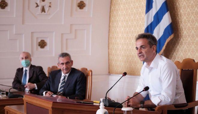 Επίσκεψη του πρωθυπουργού Κυριάκου Μητσοτάκη στην Ρόδο την Παρασκευή 7 Αυγούστου 2020