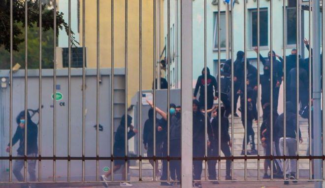 Φασιστικές ομάδες στο ΕΠΑΛ Σταυρούπολης