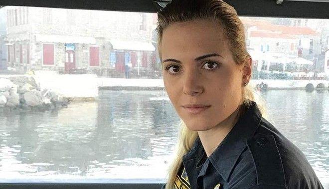 """Η Μαρία Κόντη γυναίκα κυβερνήτης του """"ιστορικού"""" σκάφους του Λιμενικού Σώματος ΠΛΣ 602"""