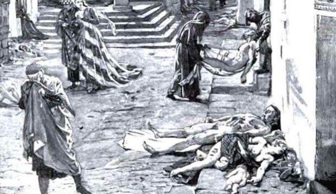 Επιδημία πανώλης στη Λευκάδα