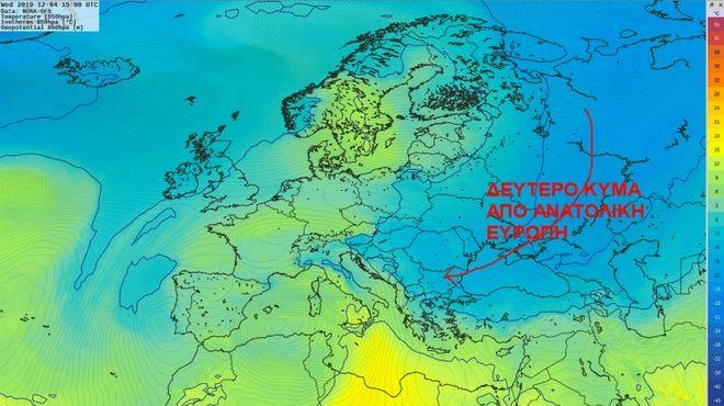 Καιρός: Η πτώση της θερμοκρασίας θα είναι πρόσκαιρη
