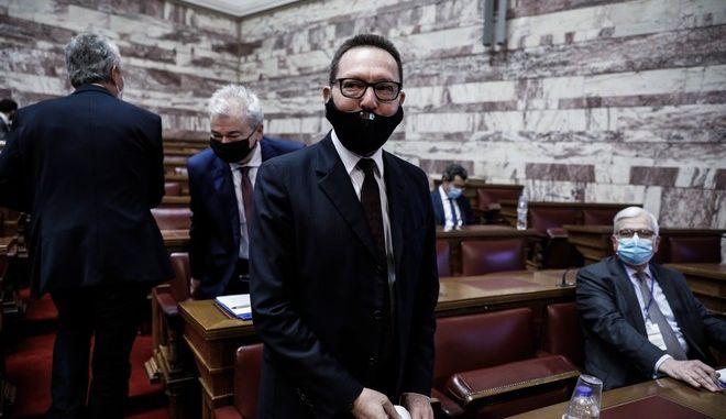 O διοικητής της Τράπεζας της Ελλάδος, Γιάννης Στουρνάρας