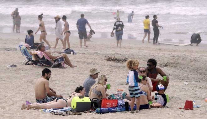 """Η """"Huntington Beach"""", στην Καλιφόρνια"""