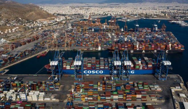 Πλοίο της εταιρίας Cosco