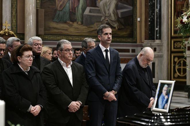 Κηδεία του ηθοποιού Κώστα Βουτσά στην Αθήνα την Παρασκευή 28 Φεβρουαρίου 2020