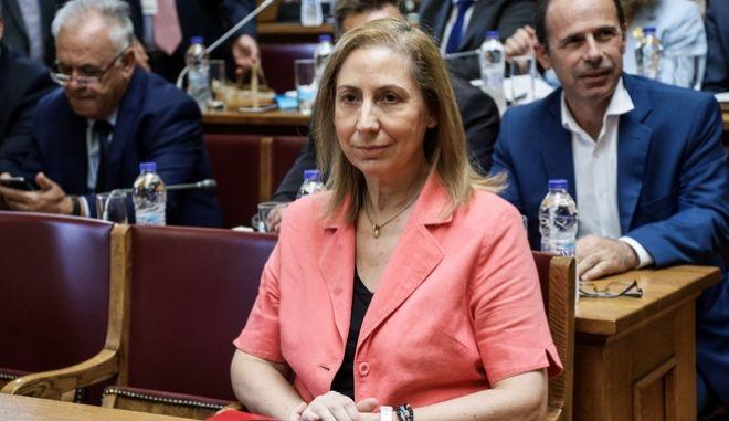 Η Μαριλίζα Ξενογιαννακοπούλου.