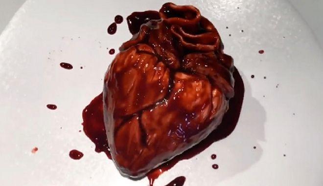 Γλυκό σε σχήμα καρδιάς, της Annabel de Vetten
