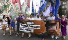 Εκατοντάδες άνθρωποι διαδήλωσαν εναντίον της παράνομης παρακολούθησης δημοσίων προσώπων στην Ουγγαρία