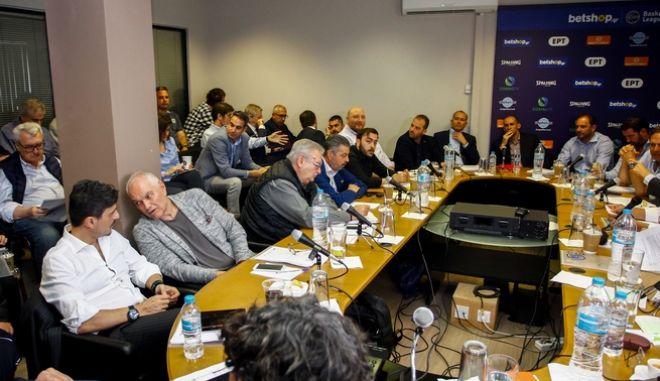 Οι ομάδες της Basket League συζητούν για το μέλλον του πρωταθλήματος