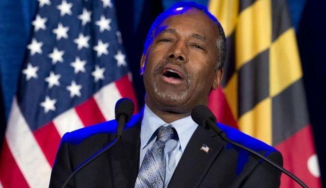 Αποσύρεται από την κούρσα για την προεδρία ο Ρεπουμπλικανός Μπεν Κάρσον