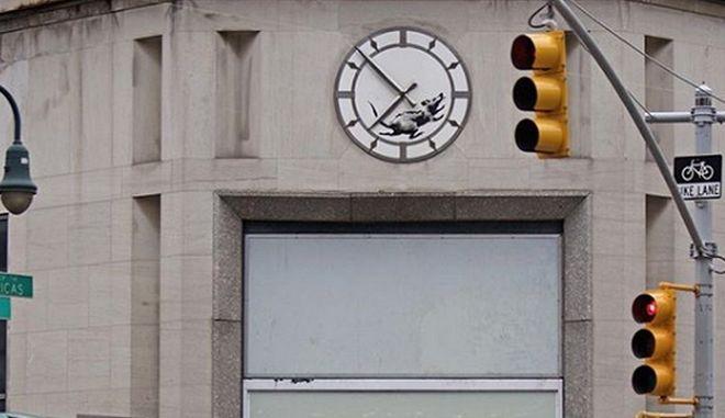 Επιστροφή Banksy στη Νέα Υόρκη;