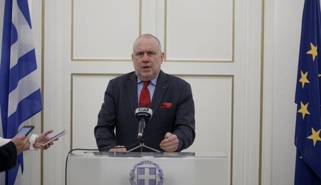Γιώργος Κατρούγκαλος μετά από συνάντηση με Νίκο Δένδια