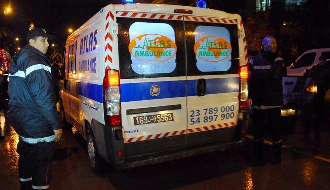 Ασθενοφόρο Τυνησίας (ΦΩΤΟ Αρχείου)