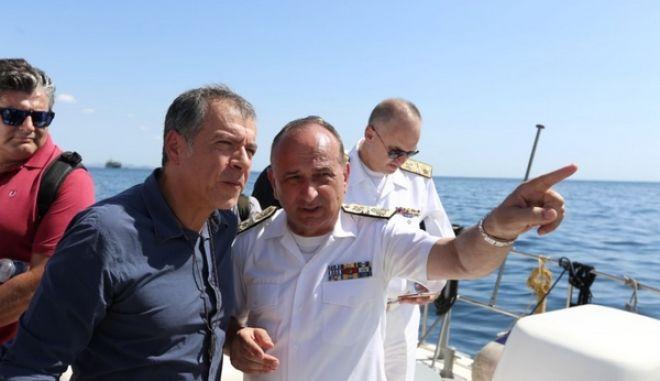 Θεοδωράκης: Θα πιέσουμε για άμεση λύση στο πρόβλημα της ρύπανσης