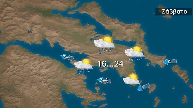 Κακοκαιρία Αθηνά: Πρόσκαιρη ύφεση το Σάββατο