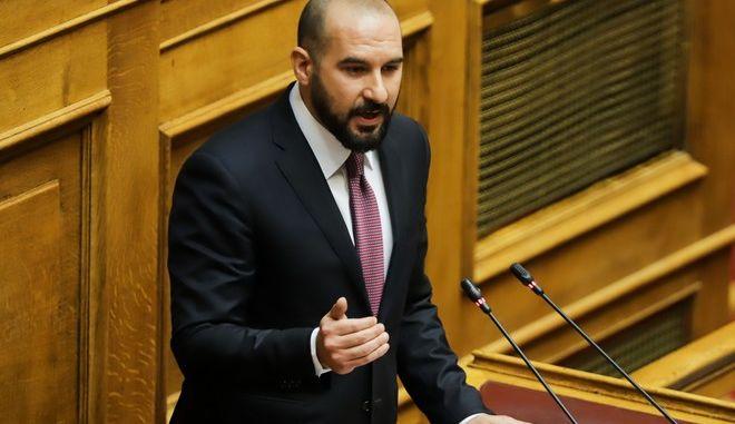 Ο κυβερνητικός εκπρόσωπος, Δ. Τζανακόπουλος