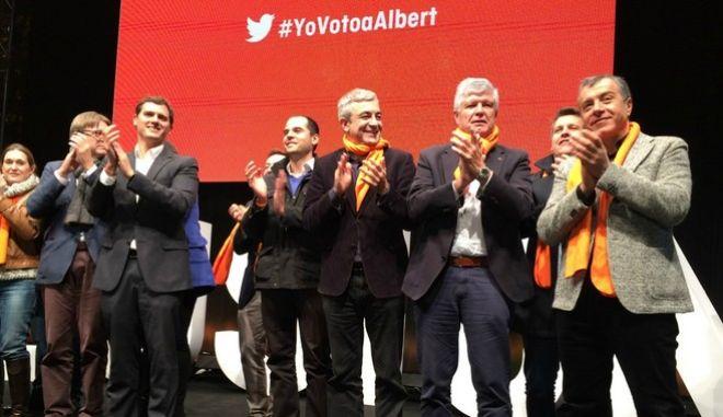 """Στο πλευρό του """"αδερφού κόμματος"""" Ciudadanos ο Σταύρος Θεοδωράκης"""