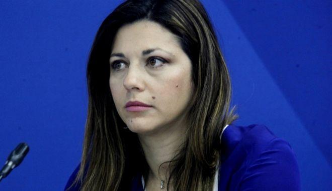 H αν. εκπρόσωπος Τύπου της ΝΔ, Μαρία Ζαχαράκη