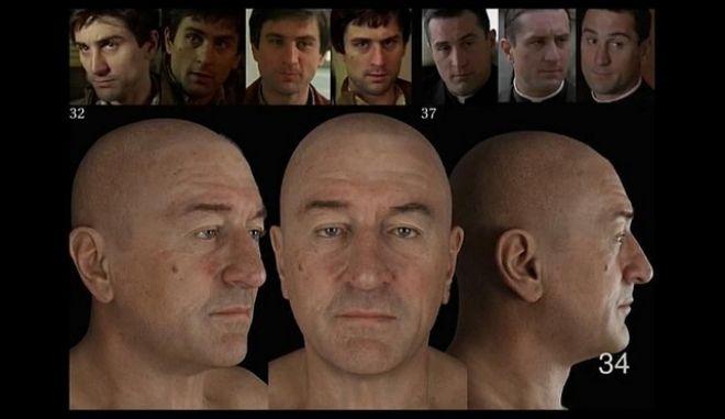 Τα πολλά πρόσωπα του Ρόμπερτ Ντε Νίρο και η τεχνική του de-aging