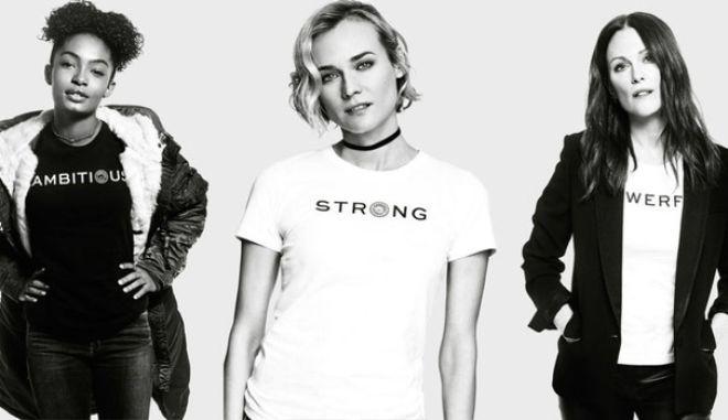 Embrace Ambition: Οι σταρ του Χόλιγουντ σε ένα μήνυμα δύναμης προς τις γυναίκες του κόσμου