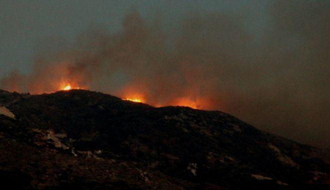 Νέα ύποπτη πυρκαγιά στις Βολίμες Ζακύνθου