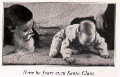 Μηχανή του Χρόνου: Το πείραμα του καθηγητή που έκανε ένα μωρό να φοβάται τον Άγιο Βασίλη
