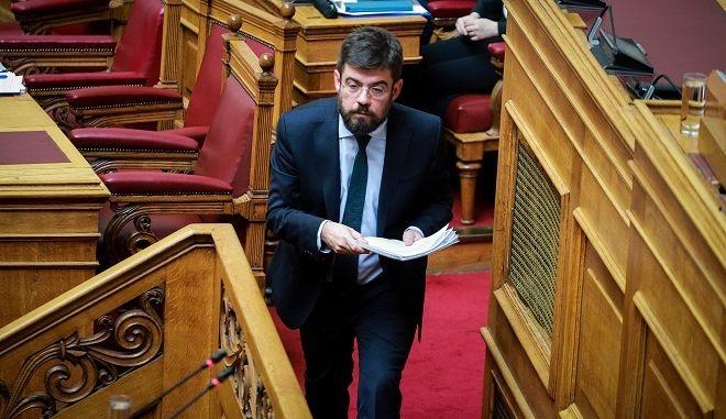 Ο υπουργός Δικαιοσύνης Μιχ. Καλογήρου