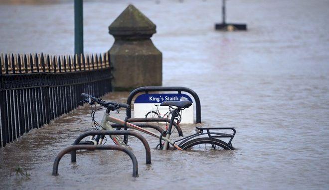 Πέρασμα καταιγίδας Κιάρα στην Αγγλία