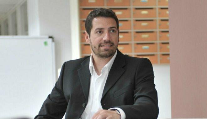 ο Αιμίλιος Χαλαμανδάρης, CEO και Co-founder της Innotetics