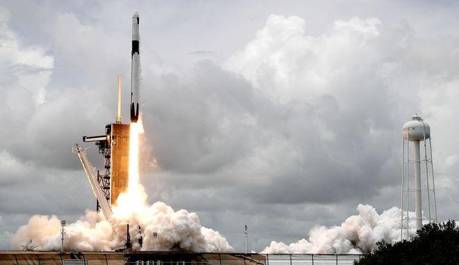 Εκτόξευση πυραύλου της SpaceX