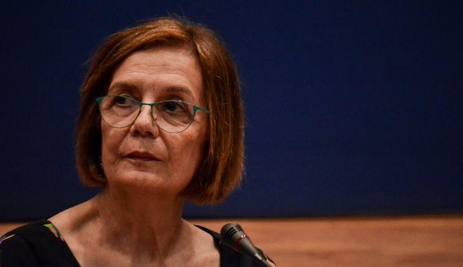 Η υπουργός Πολιτισμού Μυρσίνη Ζορμπά