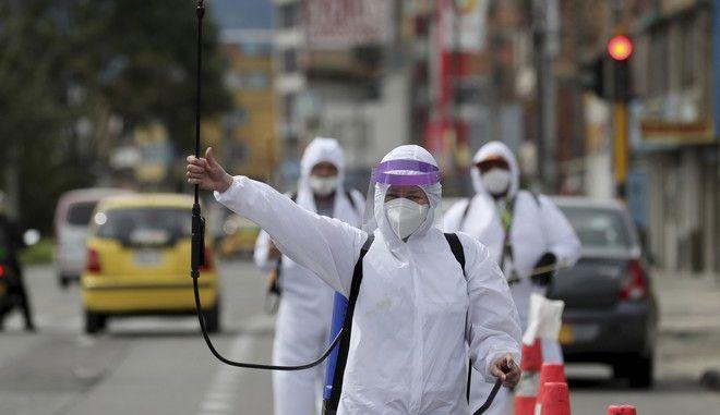 Καθαρισμός αυτοκινήτων στην Κολομβία