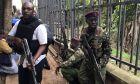 Δυνάμεις ασφαλείας στην Κένυα