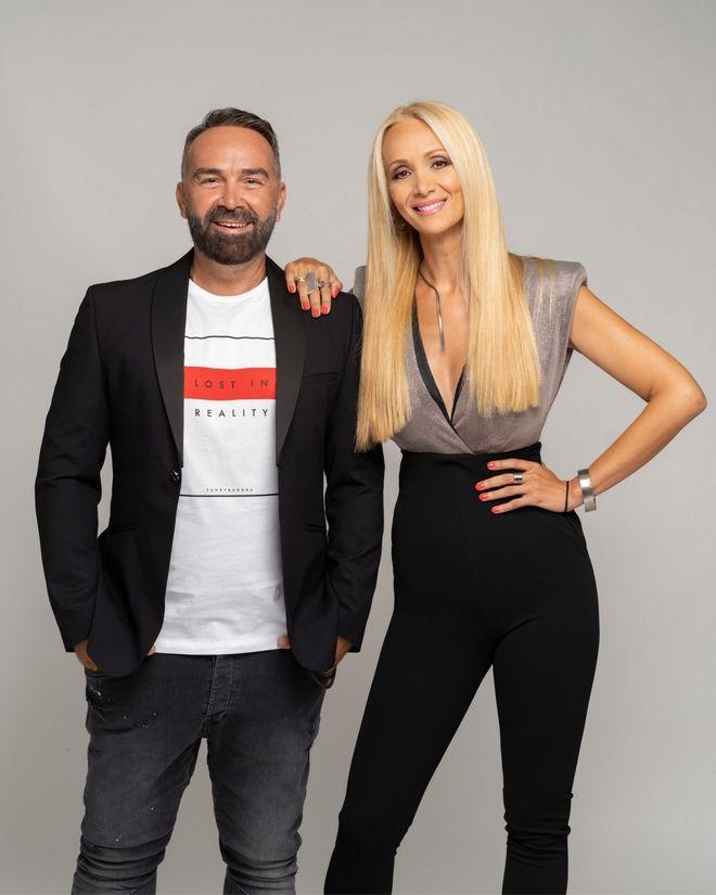 Ο Γρηγόρης Γκουντάρας και η Ναταλί Κάκκαβα οι παρουσιαστές του Big Brother 2