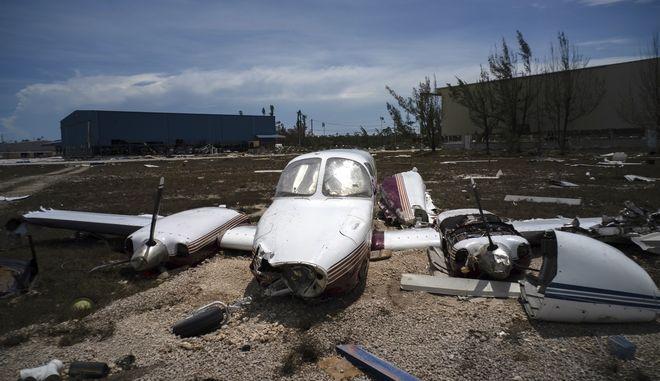 Ο τυφώνας Ντόριαν σάρωσε τα πάντα στις Μπαχάμες
