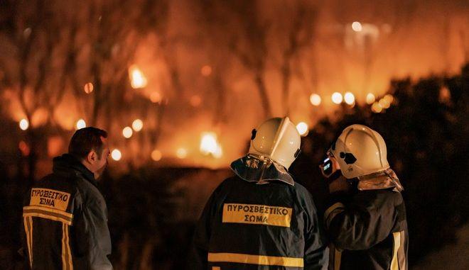 Πυρκαγιά σε Κέντρο Υποδοχής
