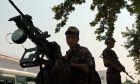 Στρατιώτες στα σύνορα του Πακιστάν