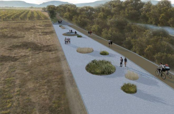 Το εντυπωσιακό πάρκο του Πηνειού - Προχωρά ο σχεδιασμός του
