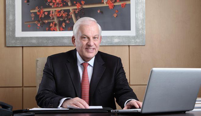 Ο πρόεδρος του Ομίλου ΙΑΣΩ Δρ. Γιώργος Σταματίου.