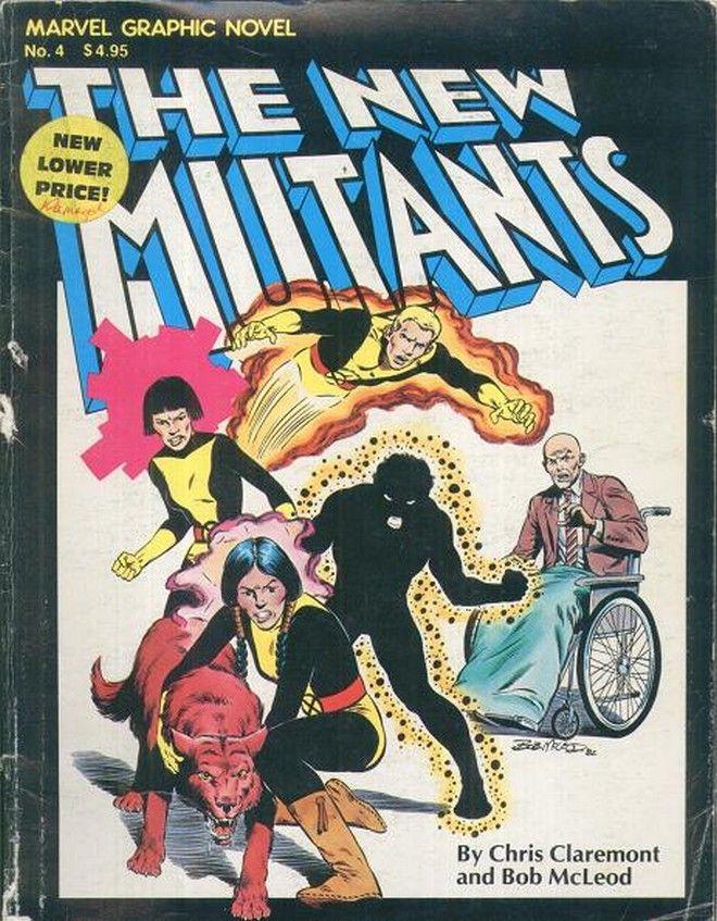 Η πρώτη εμφάνιση των Νέων Μεταλλαγμένων στο Marvel Graphic Novel #4