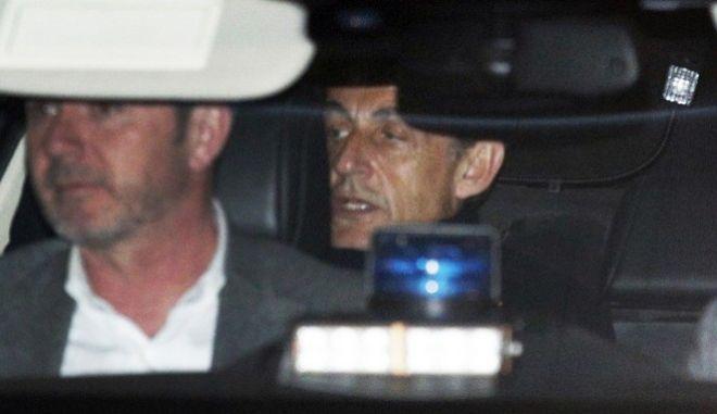 Ο πρώην πρόεδρος της Γαλλίας Νικολά Σαρκοζί