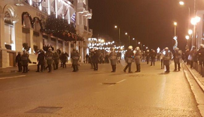 Δολοφονία Γρηγορόπουλου: Ένταση μετά το τέλος της πορείας