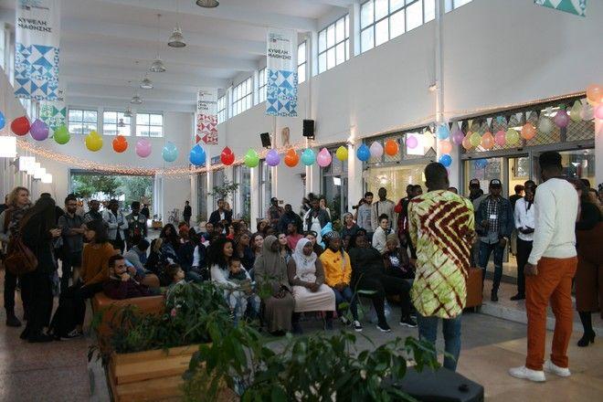 Μια Αφρικανική Γιορτή στη Δημοτική Αγορά Κυψέλης