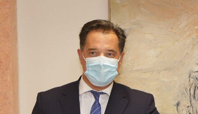 Ο υπουργός Ανάπτυξης & Επενδύσεων Άδωνις Γεωργιάδης