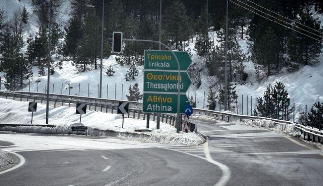 Στιγμιότυπο από την Εγνατία Οδό (Φωτογραφία αρχείου)