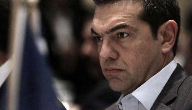 """Ο πρωθυπουργός, Αλέξης Τσίπρας, εκφωνεί την εναρκτήρια ομιλία στην Ευρω-Αραβική Διάσκεψη """"Προς μια Σταθερή Συμμαχία"""" την Πέμπτη 9 Νοεμβρίου 2017 στο Μέγαρο Μουσικής Αθηνών.  (EUROKINISSI/ΓΙΑΝΝΗΣ ΠΑΝΑΓΟΠΟΥΛΟΣ)"""